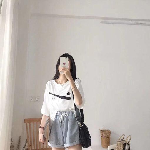 เสื้อ Oversize + กางเกงทรงหลวม-307-4
