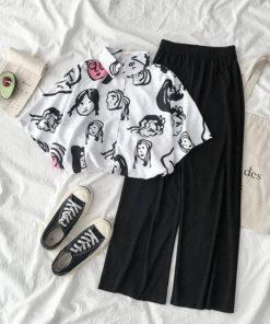เซตเสื้อเซิ๊ต + กางเกงขายาว-415-1