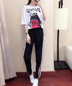 เซตเสื้อ +กางเกงขายาว-434-1