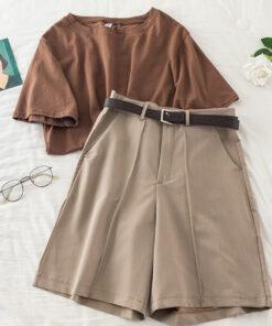 ชุดเชท เสื้อ+กางเกง-724
