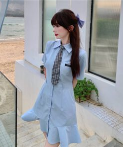 เซิ๊ตเดรส เดรสแฟชั่นเกาหลี-820