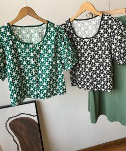 เสื้อผ้าแฟชั่นลายดอกไม้-846